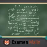 Tableau rempli d'équations