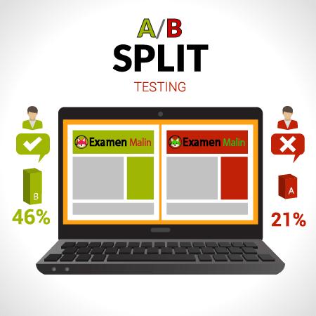 Le split testing ne fonctionne que lorsque vous avez une quantité de données à analyser ! Economisez du temps et de l'argent avec le Test A-B